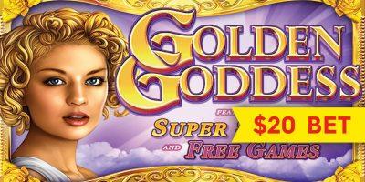 machine a sous golden goddess